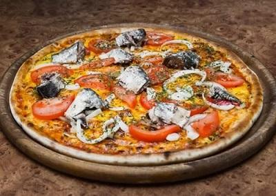 рецепт пиццы с сардинами