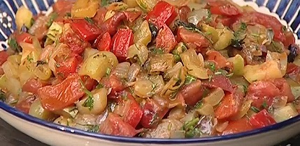 рецепт салата мясного с лечо